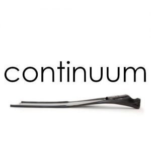 continuum fins and logo