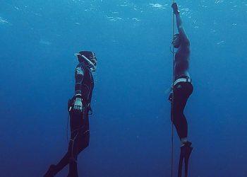 潛伴制度是自由潛水安全的一環